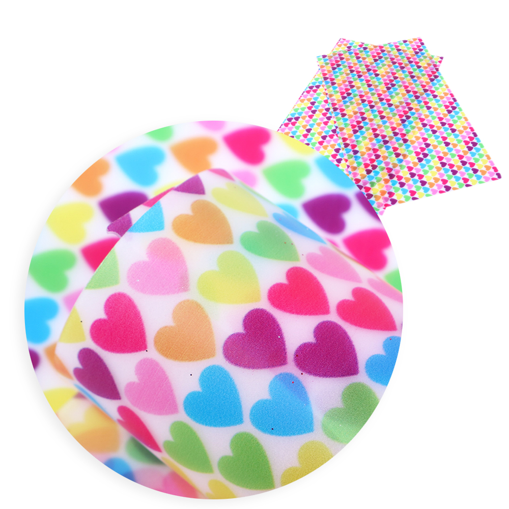 David accessories 20 * см 34 см цветок сердце день Святого Валентина Прозрачный искусственная синтетическая кожа, DIY декоративные Knotbow сумки, 1Yc5309