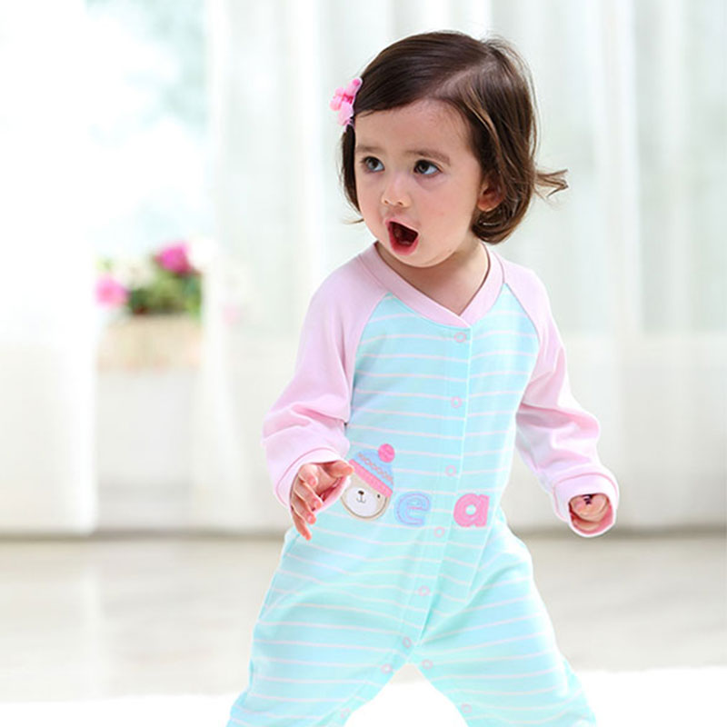 fe6050060 Buy New Climbed Clothes for Baby Christmas Newborn Romper Long ...