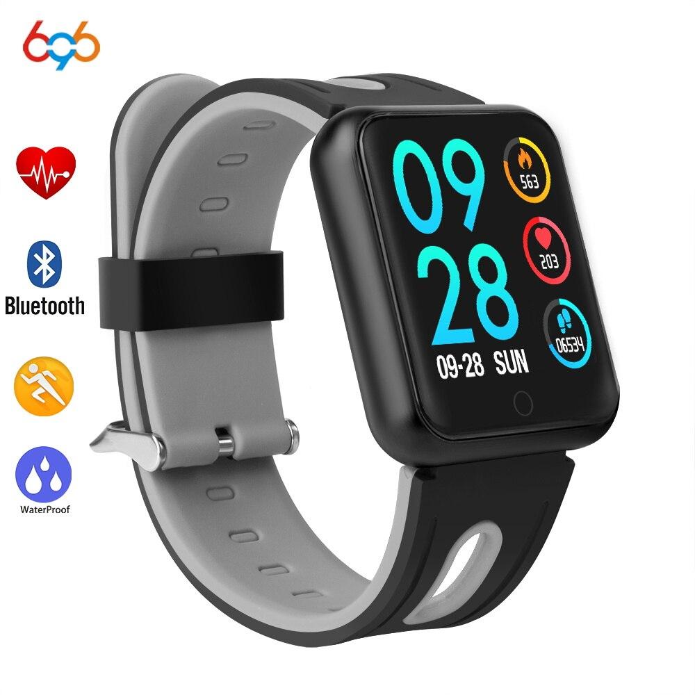 696 P68 bracelet intelligent pour xiaomi band3 huawei honor band 2 smartbandwith moniteur de fréquence cardiaque tracker d'activité de pression artérielle