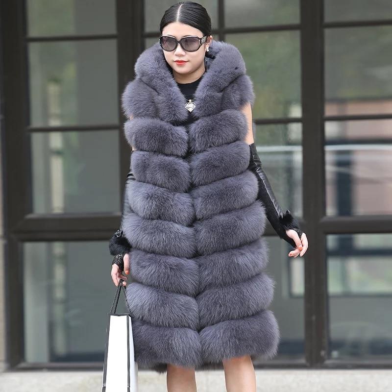 Aliexpress.com : Buy Womens Winter Natural Fox Fur Vest
