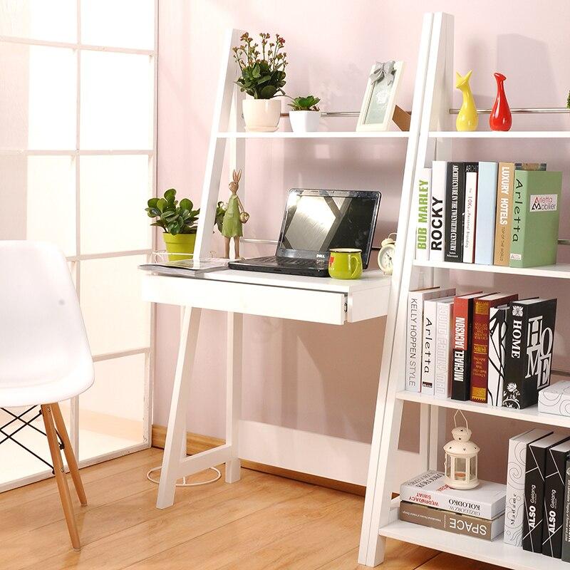 vaak thuis yat moderne minimalistische desk computer bureau boekenkast oh04