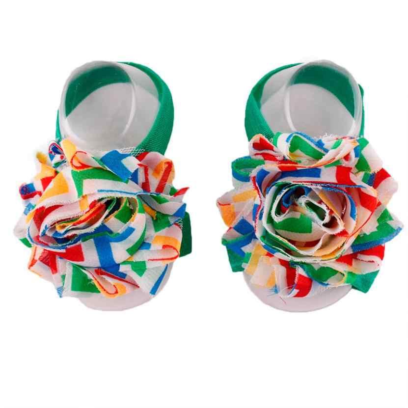 Sok meisje pasgeboren Bloem zuigeling sokken katoen kinderen sokken meisjes baby slipper sokken baby alive boneca e acessorios nice
