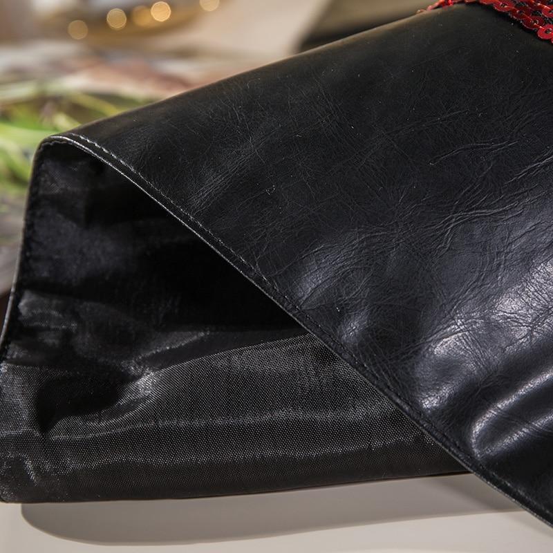 Sequins Stickching Upscale Mesdhetare Tabela e tryezës Dekori modern - Tekstil për shtëpi - Foto 5