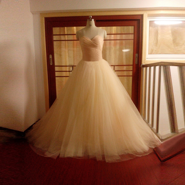 ZGS772 Cheap Price High Quality Luxury Puffy Sweetheart Wedding Gowns China Aliexpress Ball Gown Champagne