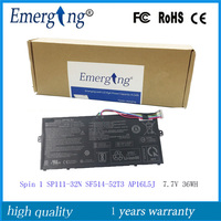7.7 V 36Wh 새로운 원본 AP16L5J Acer SF514-52T-83U3 2ICP4/91/91 SF514-52T-86W1 스핀 1 SP111-32N SF5