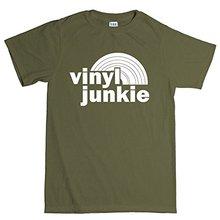 """Vinyl Junkie"" men's t-shirt"
