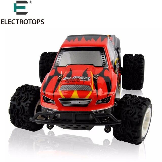 Passe-temps Monstre Camion WLtoys A212 A222 A232 RC Voiture 1/24 Hight vitesse Racing Électrique 4WD RC Télécommande Dérive De Voiture Cadeau pour enfants