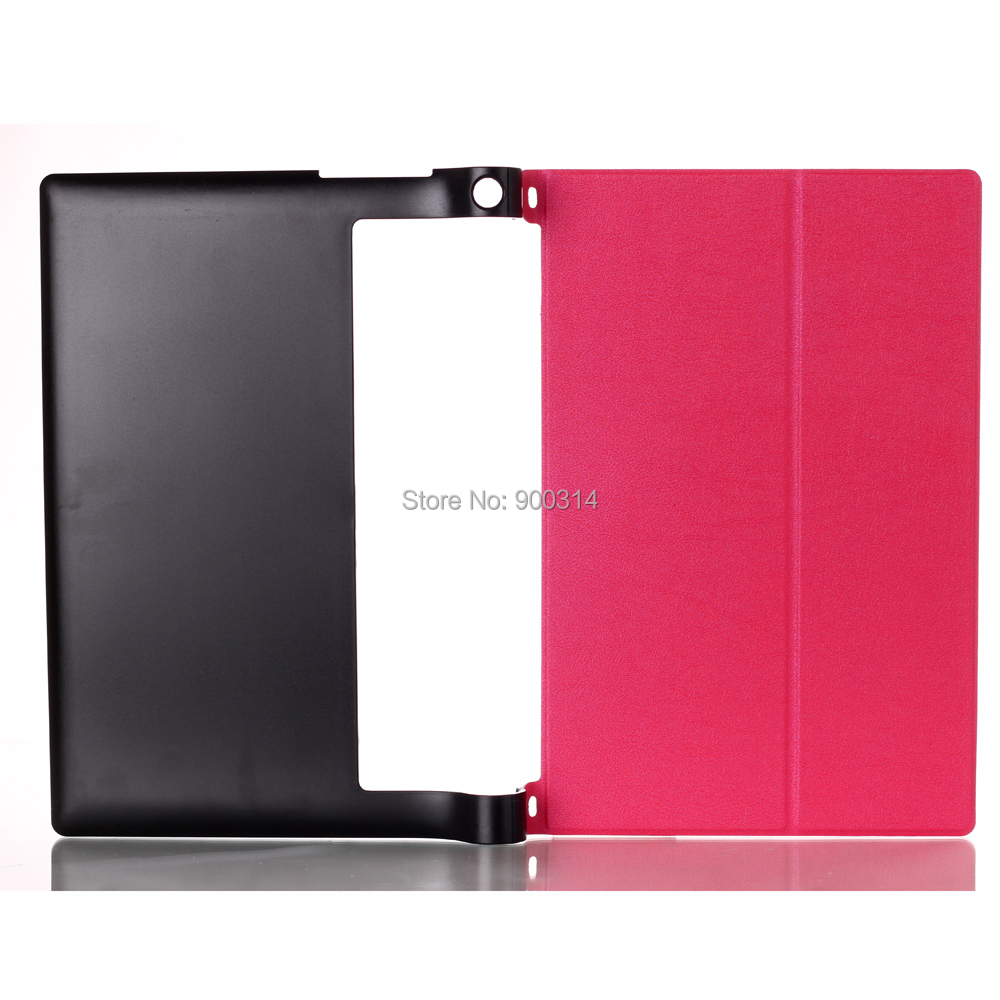 5 PCS Newest Stand Leather Skin High Quality Case Cover For lenovo yoga tablet 8 8.0 830/830F Tablet +SCREEN STYLUS