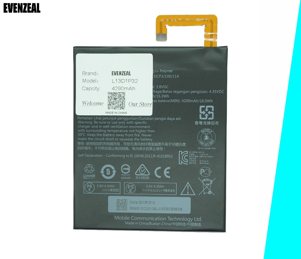 Cellphones & Telecommunications Cooperative Evenzeal 1pcs Brand New Tablet Li-polymer Battery For Lenovo Lepad A8-50 A5500 Tab S8-50 Battery L13d1p32 Battery An Enriches And Nutrient For The Liver And Kidney