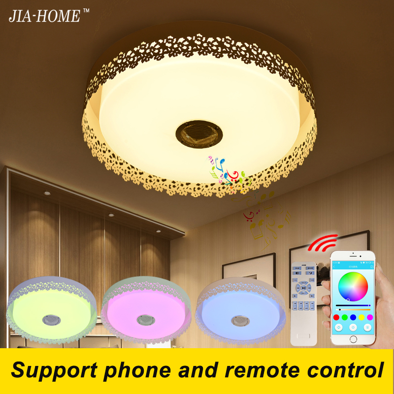 multicolor led lamp for ceiling with smartphone or remote control dome acrylic 36W ceiling light fixture flush mount speaker big game console horizontal wall mount with multicolor led light for ps4 hot sale