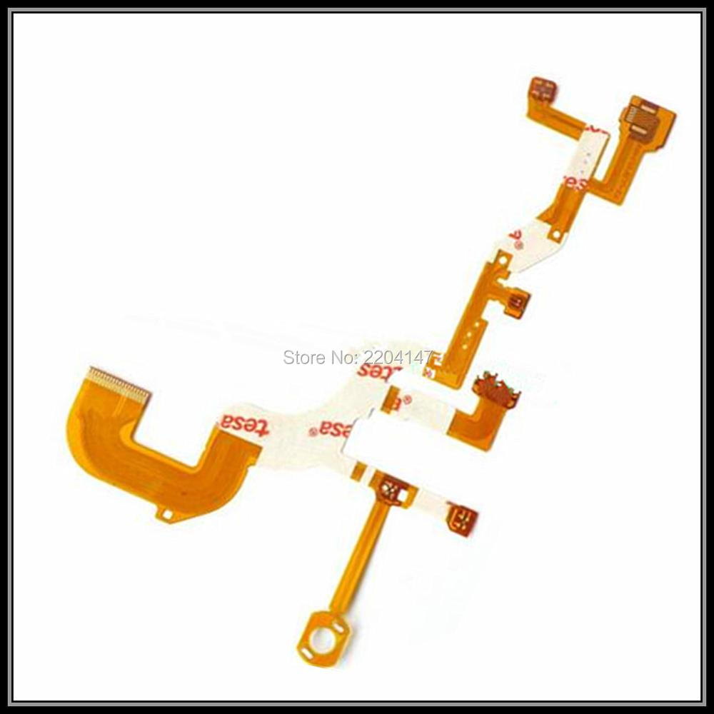 100%NEW <font><b>Lens</b></font> Back Main Flex Cable For <font><b>SONY</b></font> Cyber-Shot DSC-WX300 DSC-<font><b>WX350</b></font> WX300 <font><b>WX350</b></font> Digital Camera Repair Part (No Socket) image