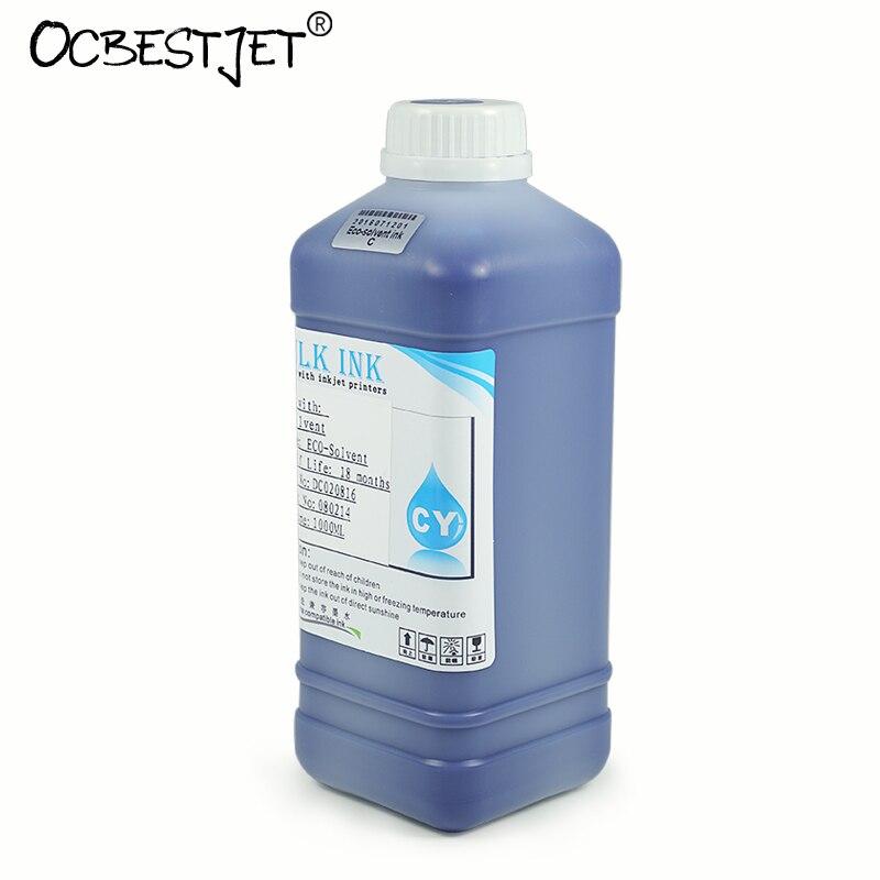 1000ML Eco Solvent Ink For Roland VS-540 VS-420 VS-300 SP-300i VP-540i VP-300i SP-540i LEJ-640 LEF-20 (7 Colors Are Available) roland versacamm vs 300i