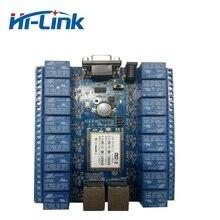 Kostenloser versand 16 kanal relais modul mit freies android, PC software, unterstützung private cloud HLK SW16K