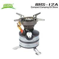 BRS Outdoor Camping Gasoline Stove One piece Burners Petrol Stove Cookware Diesel Kerosene Camp Oil Stove Picnic Furnace BRS 12A
