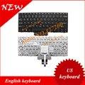 Английский клавиатура ДЛЯ Lenovo Thinkpad X100E X120 X120E X100 E10 E11 45N2975 С РАМКОЙ С Точки придерживаться США клавиатура