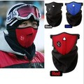 Windproof Bicyle Cycling Motorcycle Fleece Half Face Mask Winter Hood Cap Headwear Thermal for Sports Ski Snowboard