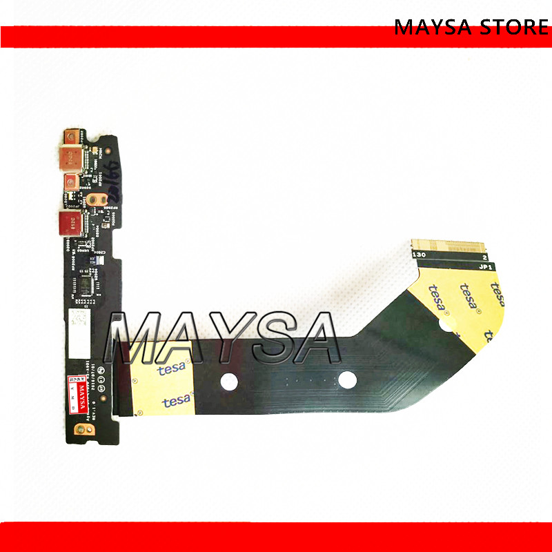 NEW NS-A901 DA30000H420 Fit For LENOVO YOGA 910-13IKB USB BOARD W/ CABLE