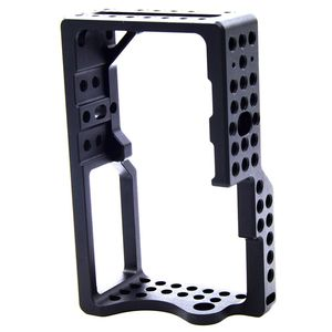 Image 4 - Video Camera Cage Stabilizer Protector for BMPCC Camera to Mount Microphone Monitor Tripod LED Light