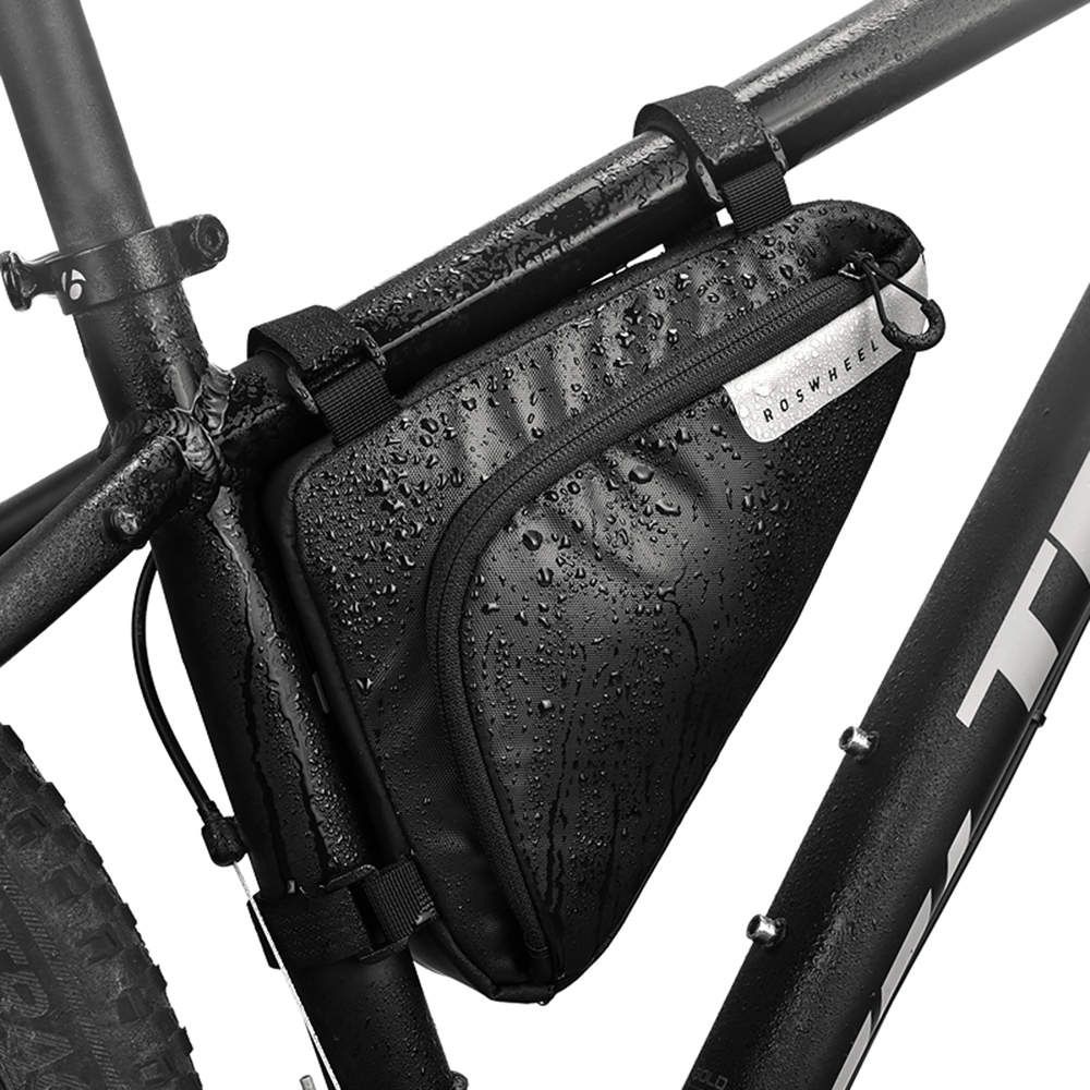 USA Bike Bicycle Cycle Front Pack Pouch Top Tube Triangle Out Frame Storage Bag