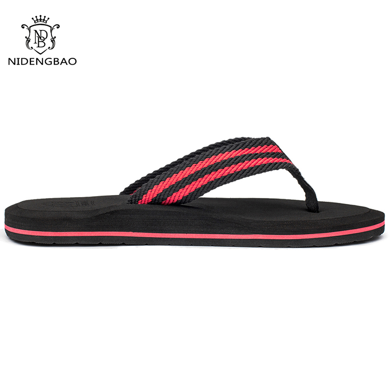NEEDBO Flip Flops Men Summer Cool Platform Sandals Men Beach Shoes - Men's Shoes - Photo 4