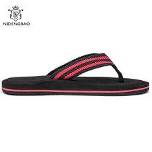NEEDBO Flip Flops Men Summer Cool Platform Sandals Men Beach Shoes Comfortable Slippers Sandals Flat for Men Plus size 47