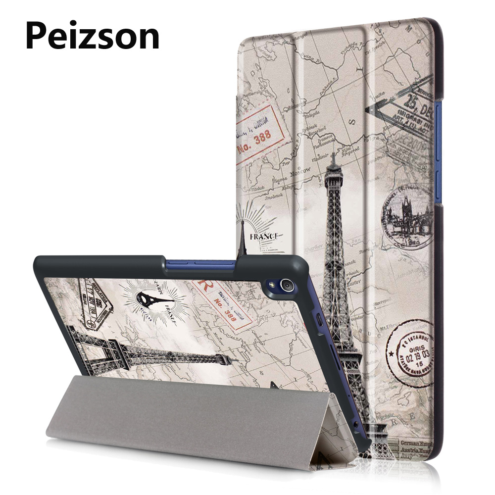 Smart Case for Lenovo TAB 3 8 Plus Cover,Flip PU Leather Tablet Cover for Lenovo P8 TB-8703 8703F 8703N Case+Auto Sleep function luxury pu leather case for lenovo tab 3 8 plus 8inch tablet stand protective cover for lenovo p8 tb 8703f tab3 8 plus