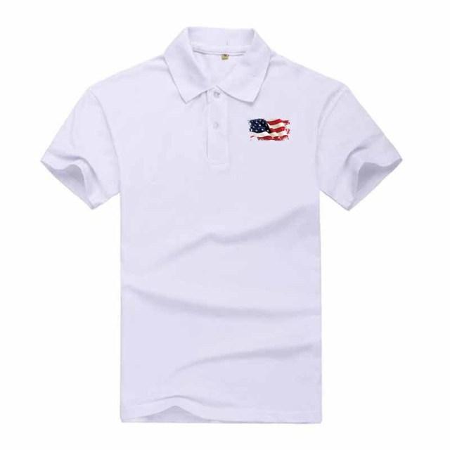 Men's Printed Short-Sleeve Polo