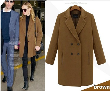 Online Get Cheap Brown Peacoat -Aliexpress.com | Alibaba Group