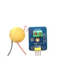 Free shipping 1PCS ALSRobotBase Ceramic Piezo Vibration Sensor for arduino Compatible with UNO R3