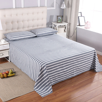 Grounded earth Flat Sheet silver conductive Standard Twin Full Queen King size Not included pillow case Radiation protection
