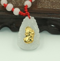 Сертификат супер натуральный XinJiang jades Carven кулон