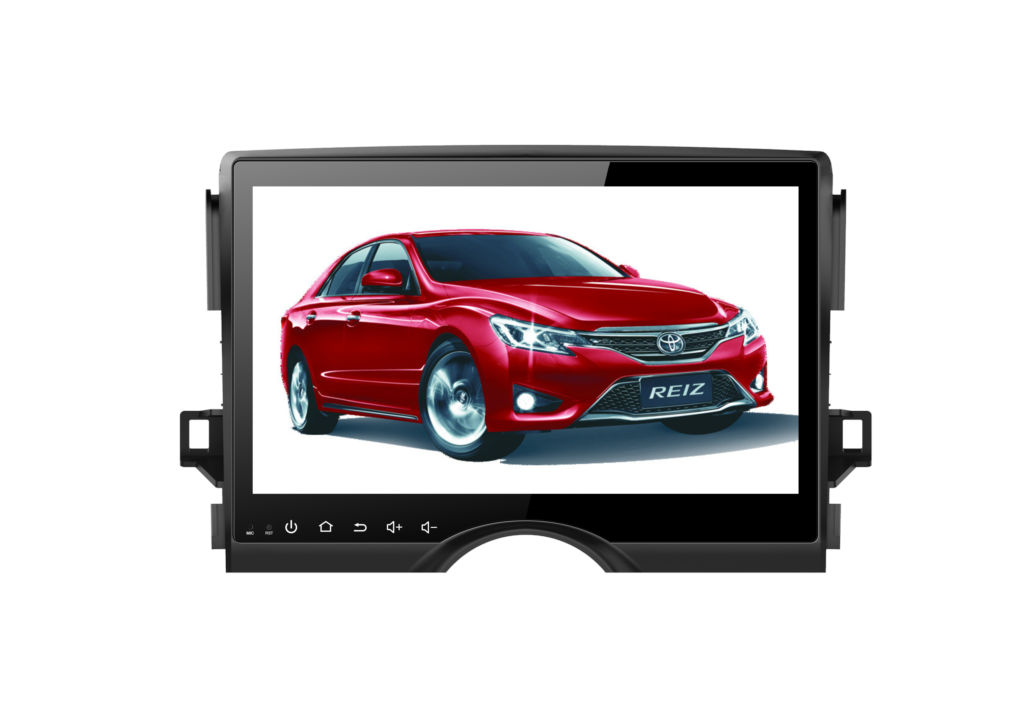 9 1024*600 HD screen Android 8.0 Car GPS radio Navigation for Toyota Mark X 2010-2014 with 4G/Wifi, DVR OBD 1080P