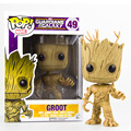 10cm Funko Pop Marvel Guardians 0f The Galaxy Groot Tree Man Action Figure Collection Bobblehead Doll Western Animation