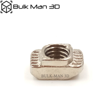 50Pcs   20 Series V Slot  M3/M4/M5 T Nut Sliding T Nut Hammer Drop In Tee Nut Fasten Connector 2020 Aluminium Extrusions