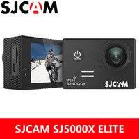 SJCAM действие Камера SJ5000X Elite 4 К WiFi Спорт DV гироскопа 2,0 дюймов ЖК дисплей Экран NTK96660 Дайвинг 30 м Водонепроницаемый экстремальный Спорт SJ Cam