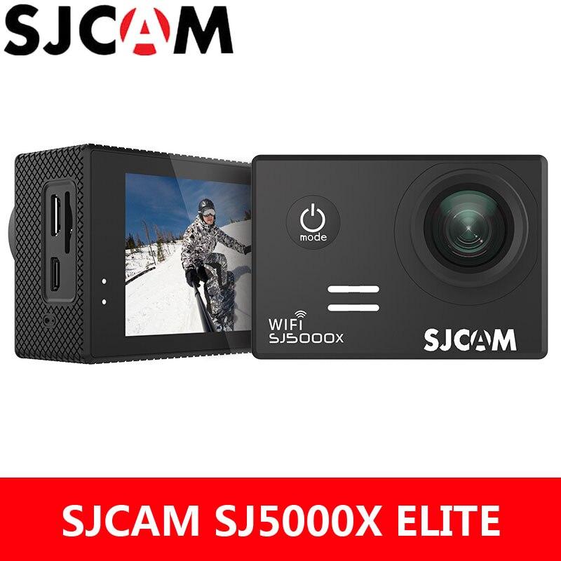 SJCAM Action Camera SJ5000X Elite 4K WiFi Sports DV Gyro 2.0 inch LCD Screen NTK96660 Diving 30m Waterproof Extreme Sport SJ Cam soocoo c100 action camera 4k wifi sports dv full hd 1080p gyro 30m waterproof diving mini camcorder 2 0 inch ntk96660 sport cam