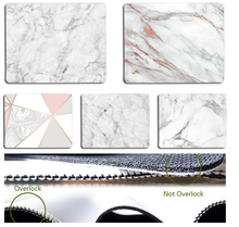 In Stocked Pink Gold White marble  Comfort small Mouse Mat Gaming pad Simple Design Speed Game Pads