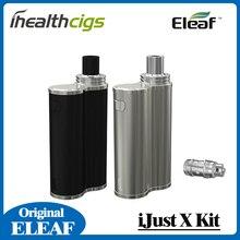 100% Original Eleaf iJust X Starter Kit 50W Vape Box MOD with 7ml Tank and 3000mah Battery IjustX Kit