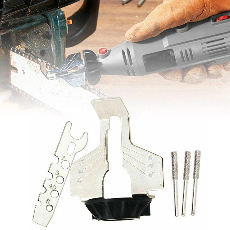 70mm Chainsaw Sharpening Attachment High Speed Steel Chainsaw Sharpening Attachment Set Kit For Saw Chains Replacement70mm Chainsaw Sharpening Attachment High Speed Steel Chainsaw Sharpening Attachment Set Kit For Saw Chains Replacement