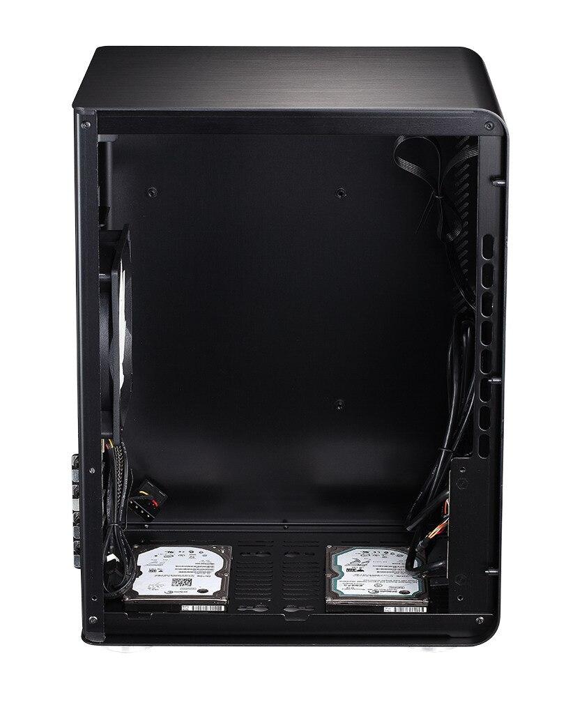 HTPC MATX Mini case aluminum computer case USB3 0 2 Home theater computer Jonsbo U3 V4