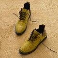 Botas femininas damski boty tamanho 35-40 botas de couro de patente de moda esculpida botas femininas preto, vermelho, verde rebite martin