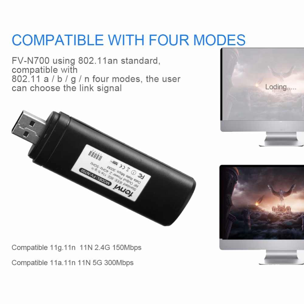 300M Wifi inalámbrico adaptador USB para Smart TV Samsung TV tarjeta de red WiFi Dongle adaptador de 5G 300Mbps WIS12ABGNX WIS09ABGN PC