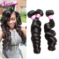 Peruvian Loose Wave 3 Bundles 7A Unprocessed Virgin Hair Loose Wave Rosa Hair Products Peruvian Virgin Hair Bundles Wavy Hair