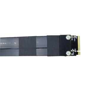 Image 5 - كابل تمديد M.2 لـ NVMe SSD ، بطاقة رفع محرك الأقراص الصلبة ، R44SF/R24SF M2 إلى PCI Express 3.0 X4 PCIE 32G/bps M Key Extender