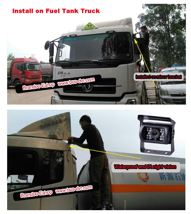 CAM-05 on fuel tank truck
