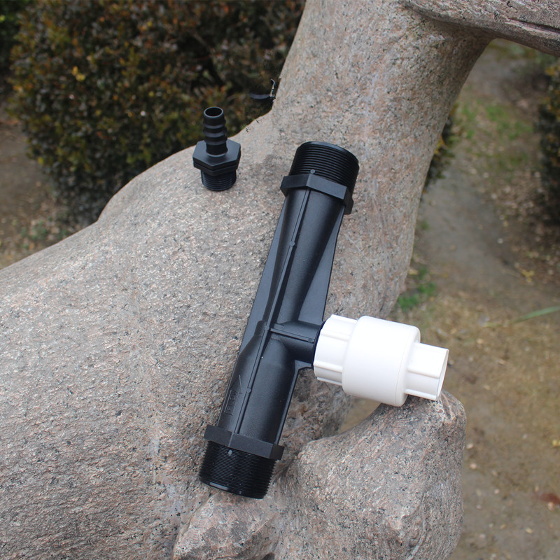 2pcs/pack 2Device Venturi Fertilizer Injector Water Tube Kit Watering Equipment Fertigation Equipment Patio Lawn image