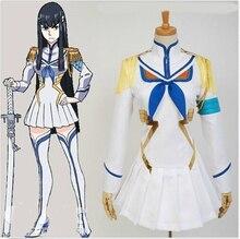 Аниме-убить ла убить сацуки Kiryuin косплей костюм платье юбка M-XL полный комплект бесплатная доставка новый
