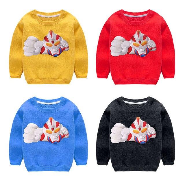 hot! Thicken minions clothes cartoon Superman pull garcon enfant winter camiseta infantil warm boys&girls tshirt roupas kikikids