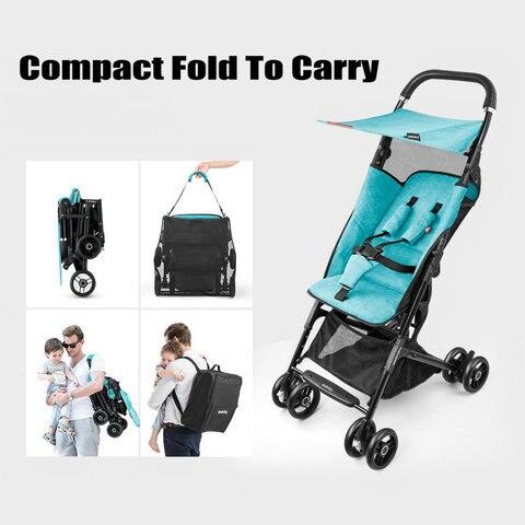 carrinho de bebe pode two way quatro rodas amortecedores alta