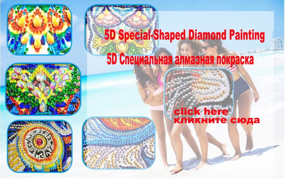 13-5D special-shaped Diamond Painting